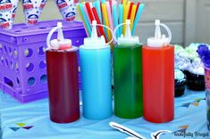 of the best uses for Kool-Aid. Kool-Aid isn't just for drinking. Sno Cones, Homemade Syrup, Summer Treats, Summer Food, Summer Drinks, Delicious Magazine, How To Make Snow, Circus Birthday, 10th Birthday
