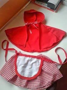 Disfraz de caperucita Buena idea para carnaval  515f8a13d92e