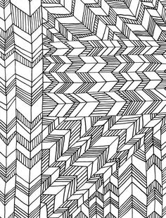 coloring book geometric patterns - Modern Patterns Coloring Book