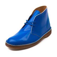 Mens Clarks Originals Desert Boot, Royal