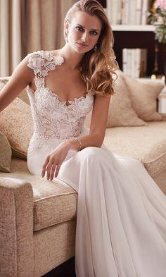 Caroline Castigliano Love is in the Air 2017 Morning Wedding Dress