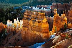 Scenic view of Bryce Canyon Southern Utah