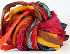 How to make a tutu with recycled silk sari ribbon
