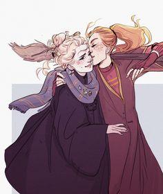who gaf about who wins quidditch when u got a cute gf am i right???