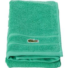 Turquoise Lacoste Hand Towels