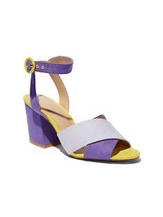 f9683e924a5b Colorblock Sandal - Eva Mendes Collection