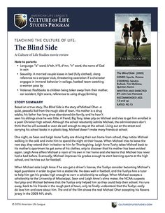 Based on a true story, The Blind Side is the story of Michael Oher—a quiet, peaceful kid from the rough side of town. Reading Books, Books To Read, Couple Kiss In Bed, The Blind Side 2009, Michael Oher, Youth Group Lessons, Notes To Parents, Movie Guide, Names Of God