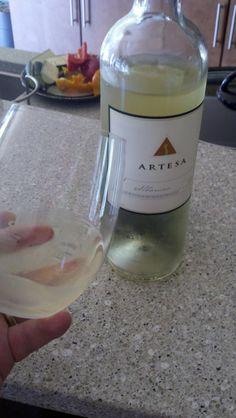 Customer's photo of Artesa's 2010 Albarino!