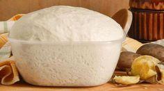 Тесто постное дрожжевое без молока и яиц, Как пух!