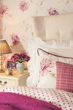 Laura Ashley Australia Painterly Floral Collection.