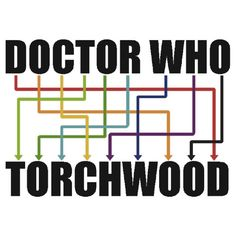 Oh, this is brilliant! Doctor Who/Torchwood.