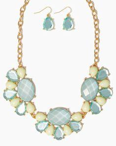 Alstro Bib Necklace Set | Jewelry | charming charlie