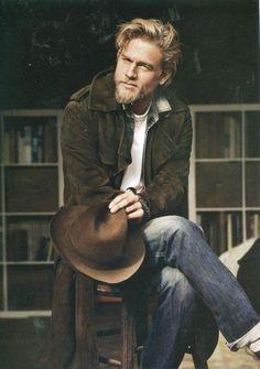Rugged Blonde Beard...