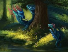 Lunar mist by Neboveria on DeviantArt Magical Creatures, Fantasy Creatures, Chromatic Dragon, Dragon's Lair, Dragon Pictures, Wings Of Fire, White Dragon, Dragon Art, Furry Art