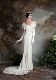 46 Great Gatsby Inspired Wedding Dresses And Accessories | Pinterest |  Gatsby, Wedding And Art Deco