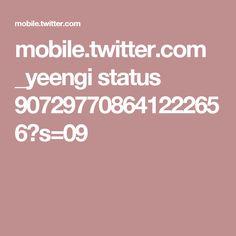 mobile.twitter.com _yeengi status 907297708641222656?s=09