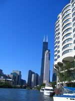 Chicago's Sears Tower is one of the tallest buildings in the world.