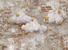 Twinkle Alley ~ Fabric photography backdrop from Baby Dream Backdrops