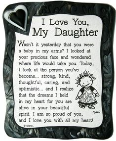 I Love My Daughter Quote Magnet quotes family daughter shop family quotes daughter quotes mom quotes buyable Mom Quotes From Daughter, I Love My Daughter, My Beautiful Daughter, My Love, Happy Birthday Daughter From Mom, Daughter Birthday Sayings, Mother Daughter Poems, Graduation Quotes For Daughter, Beautiful Person