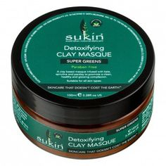 Sukin Super Greens Detoxifying Clay Masque 100 mL