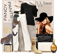 """""""Fancy Pants"""" by sheryl-lee ❤ liked on Polyvore"""