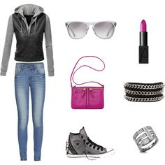 """""""Too cool for school"""" by manifika on Polyvore"""