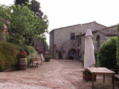 Il Borgo di Vescine - Radda in Chianti, Italy.  Loved this beautiful hotel in Tuscany!!!