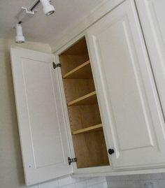 "36"" Wall Cabinet, Double Door - Momplex Vanilla Kitchen | Ana White"