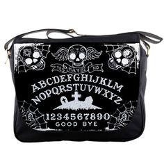 Ouija Board messenger bag