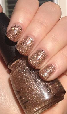 China Glaze Champagne Kisses Sephora by OPI Don't Be Eggnog-ious