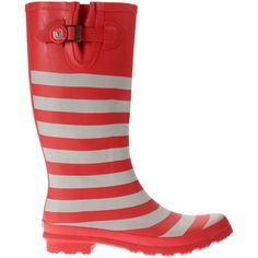 Women's Lillybee U Ohio State Buckeyes Rain Boots with Logo Snap