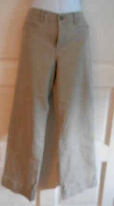 womans jrs pants lt green casual sz 4 Horney Toad