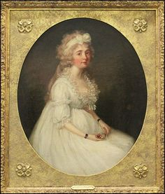 Attributed to Francis Alleyne, Portrait of a Lady Holding a Miniature, Lot 148-6305