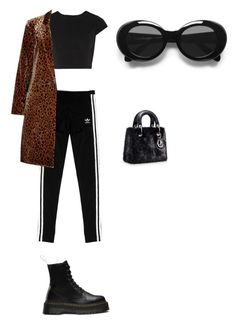 """im back by popular demand"" by houdinia ❤ liked on Polyvore featuring adidas Originals, Dr. Martens, Alice + Olivia, Vanessa Bruno and Acne Studios"