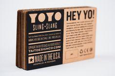 Sling-Slang Yoyo via @thedieline