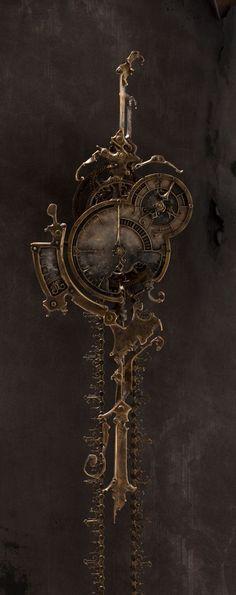 """""""Mechanical No.6"""", 2009. 7.5"""" x  72"""" x 5.5"""" deep."""