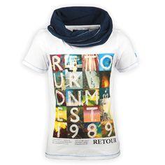 Retour Jeans Jongenskleding T-shirt Korte Mouwen Hery White | Kinderkleding, Kindermode en Babykleding www.kienk.nl | #jongenskleding #kidsfashion