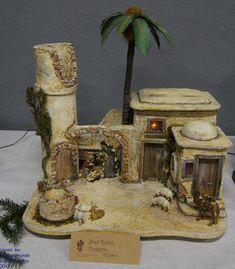 Click to Close 2 Kind, Pintura Country, Miniture Things, Nativity, Backdrops, Christmas Decorations, Xmas, Seasons, Wallpaper