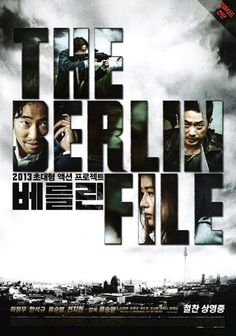 The Berlin File Movie Poster 2013 Jung-woo Ha, Suk-kyu Han, Gianna Jun - Limited