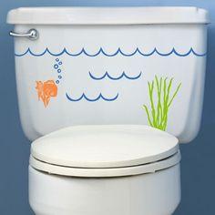 baños  en vinilo -