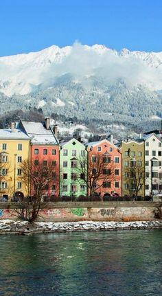 One of my favorite cities!  Innsbruck, Austria