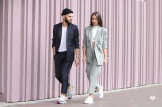 J'aime tout chez toi - French fashion couple - minimal tailoring