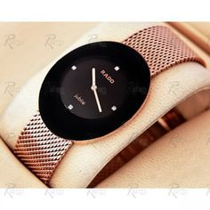 Luxury Rado Watches Collection, having explicit timepieces, classy, futuristic and highly fashionable. #luxurywatches #men #women #richtimepieces #gold #florencecollection #elegance http://www.johnsonwatch.com/rado.php#