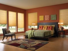 Motorized Cellular Shades and Remote Controlled Honeycomb Shades Honeycomb Blinds, Honeycomb Shades, Cellular Blinds, Cellular Shades, Motorized Shades, Motorized Blinds, Home Cooler, Relaxation Room, Shades Blinds