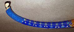 Horn Bow Painted Scythian