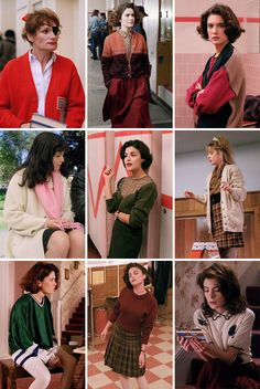 Fashion inspiration: Ladies of Twin Peaks.