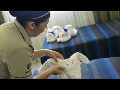 Como fazer bichinhos com toalha de banho para decorar a cama - Cisnei - Cachorro - Dinossauro - YouTube