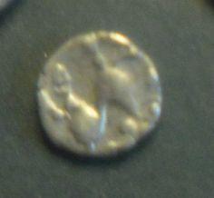 silver Celtic coin
