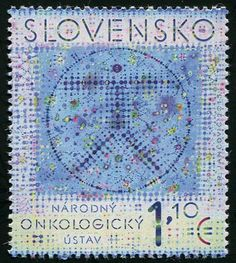 Slovakia National Cancer Institute Stamps