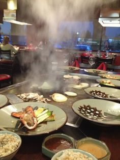 "See 74 photos and 18 tips from 939 visitors to Benihana. ""Alaskan Roll, Shrimp Lovers Roll, Hibachi Scallops, Shrimp Fried Rice, Hibachi Salmon with. Shrimp Fried Rice, Citrus Heights, 11th Birthday, Birthday Dinners, Scallops, How To Clean Carpet, Sacramento, Salmon, Restaurants"